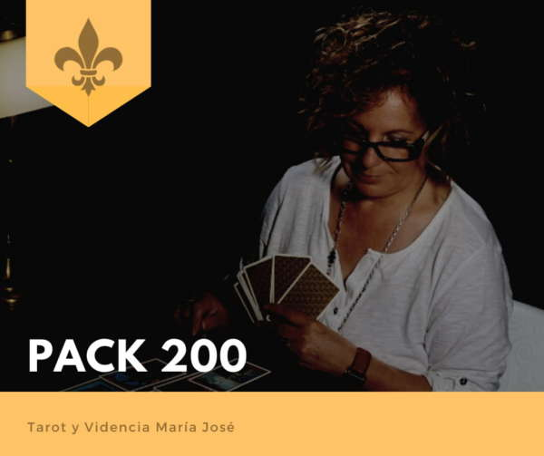 PACK 200 - Tarot y Videncia María José