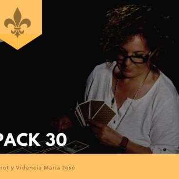 PACK 30 - Tarot y Videncia María José