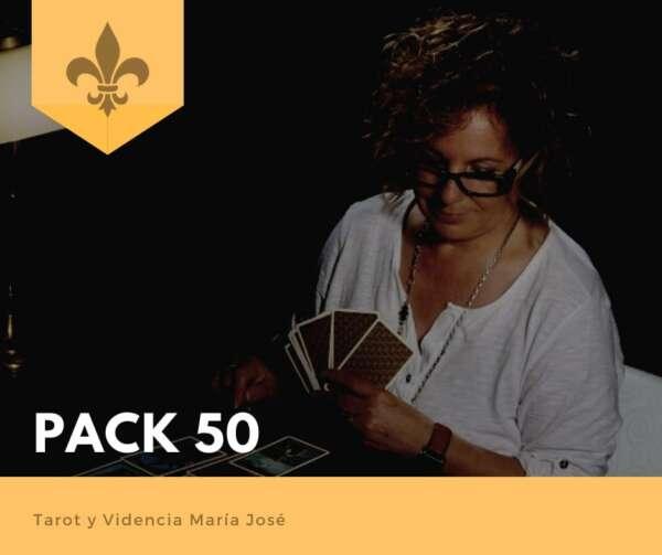 PACK 50 - Tarot y Videncia María José